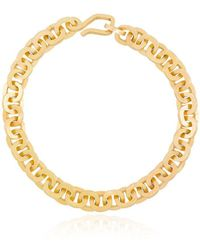 Elhanati 18kt Yellow Gold Parisienne Chain Bracelet - Metallic