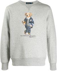 Polo Ralph Lauren Rugby Bear スウェットシャツ - グレー