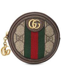 Gucci Monedero Ophidia GG - Marrón