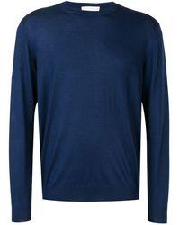 Cruciani Pullover mit rundem Ausschnitt - Blau