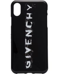 Givenchy Black And White Faded Logo Print Iphone X Phone Case