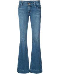J Brand Flared Jeans - Blauw