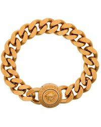 Versace Medusa Chain Bracelet - Metallic