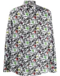 Karl Lagerfeld - Comic Book Print Shirt - Lyst