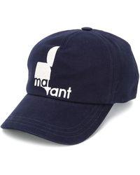 Isabel Marant ロゴ キャップ - ブルー