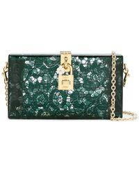 Dolce & Gabbana Dolce Box クラッチバッグ - ナチュラル