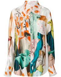 Marni Patchwork Shirt - Multicolor
