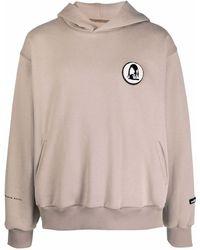 Styland Appliqué-logo Cotton Hoodie - Multicolor