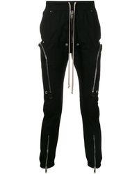 Rick Owens Slim-fit Drawstring Pants - Black