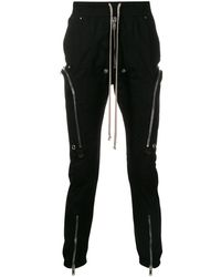 Rick Owens Slim-fit Drawstring Pants - Black