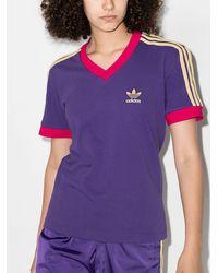adidas X Wales Bonner Vネック Tシャツ - パープル
