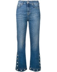 7 For All Mankind - クロップド ジーンズ - Lyst