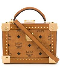 MCM - All-over Logo Tote - Lyst