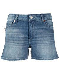 Zadig & Voltaire Short Sweet Eco en jean - Bleu
