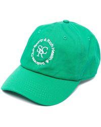 Sporty & Rich ロゴ キャップ - グリーン