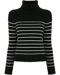 Nili Lotan Striped Cashmere Jumper - Black