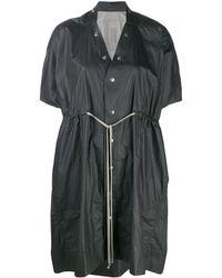 Rick Owens Short-sleeved Raincoat - Черный