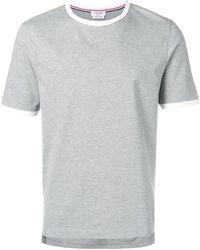 Thom Browne - ジャージーリンガーtシャツ - Lyst