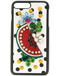 Dolce & Gabbana - フルーツ装飾 Iphone 7 Plus カバー - Lyst