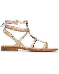 Ash Studded Sandals - Multicolor