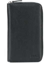 Karl Lagerfeld - Compact Wallet - Lyst
