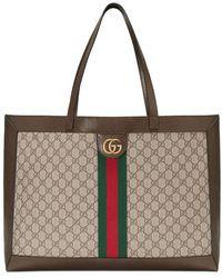 Gucci 'Ophidia' Shopper - Braun