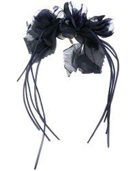 Alberta Ferretti - Sheer Flower Brooch - Lyst