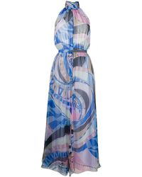 Emilio Pucci - Wally-print Chiffon Dress - Lyst