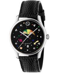 Gucci G-tijdloos 36 Mm Horloge - Zwart