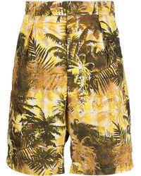 Engineered Garments Sunset Chino Shorts - Yellow