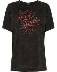R13 Fast Times Tシャツ - ブラック