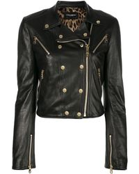 Dolce & Gabbana Байкерская Куртка На Молнии - Черный