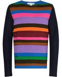 Comme des Garçons - ストライプパネル セーター - Lyst