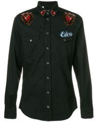 Dolce & Gabbana - Eden Patch Shirt - Lyst