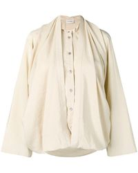 Lemaire Loose-fit Blouse - Natural