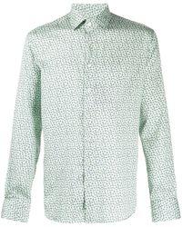Etro Hemd mit Paisley-Print - Grün