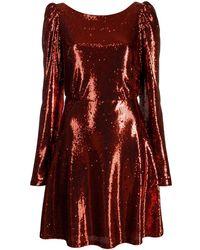 Black Coral Платье Camila Trilly С Пайетками - Красный