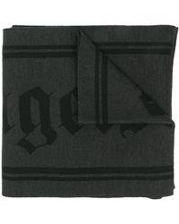 Palm Angels ロゴ スカーフ - グレー