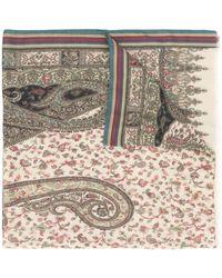 Etro Foulard a fiori - Multicolore