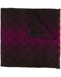 Missoni - パターン ロゴ スカーフ - Lyst