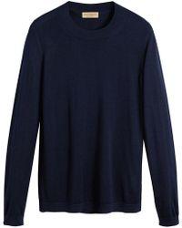 Burberry - Crewneck Sweater - Lyst