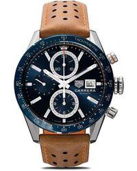 Tag Heuer 'Carrera' Armbanduhr, 41mm - Mehrfarbig