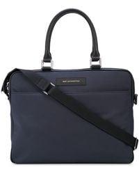 Want Les Essentiels De La Vie Haneda 15 Slim Computer Bag - Blue