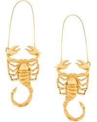 Givenchy Scorpio Zodiac Charm - Metallic