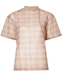 Toga Pulla - Checked Blouse - Lyst