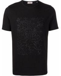 Corneliani グラフィック Tシャツ - ブラック