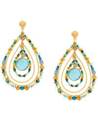 Gas Bijoux - Aurore Drop Earrings - Lyst