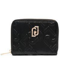 Liu Jo ファスナー財布 - ブラック