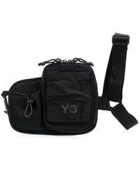 Y-3 Сумка На Плечо С Карманами - Черный