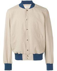 0d367f11564b Lyst - Maison Kitsuné Faux-shearling Lined Corduroy Jacket for Men